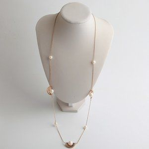 Tory Burch Spinning Pearl Rosary